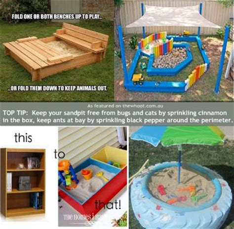 Toy Box Ideas Diy Sandboxes Designed To Inspire Without Breaking The Bank