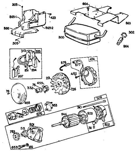 16 hp vanguard parts diagram wiring diagram with description