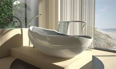 egg shaped bathtub egg shaped bathtubs this luca veneri tub will envelop you like a cocoon
