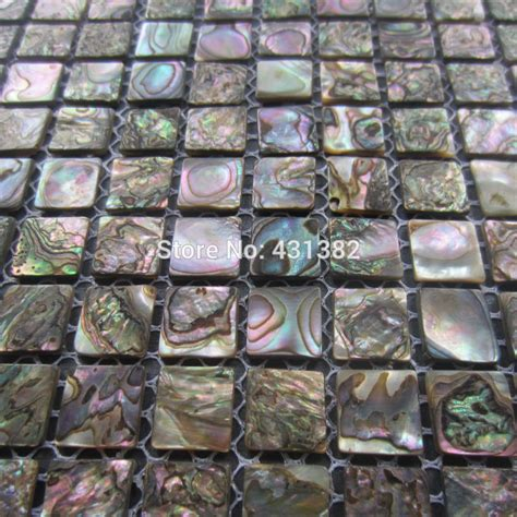 abalone shell green mosaic tile kitchen backsplash tiles mother of pearl mosaic tiles green