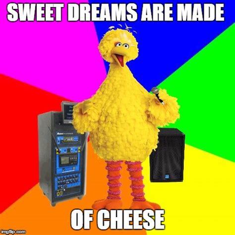 Sweet Dreams Are Made Of Memes - wrong lyrics karaoke big bird sings marilyn manson i chose the mason version because it was
