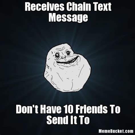 Meme Text Face - chain mail texts memes