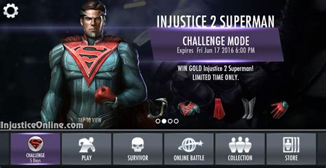 us mobile injustice 2 superman challenge for injustice mobile