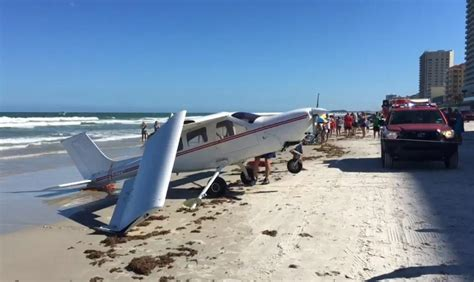 shrimp boat aground daytona beach pilot survives plane crash into ocean off daytona beach