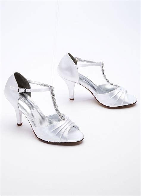 david s bridal dyeable shoes david s bridal wedding bridesmaid shoes mid heel
