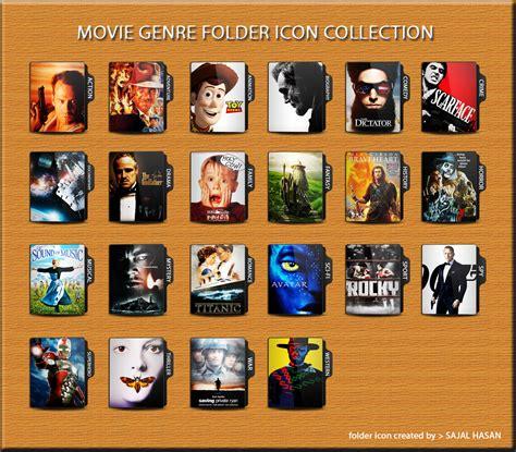 film anime genre action comedy movie genre folder icon collection by sajalhasan on deviantart