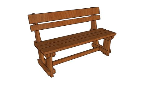 garden bench plans howtospecialist   build step