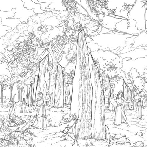 The Official Outlander Coloring Book   Abstract Coloring