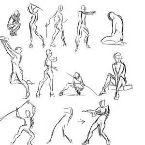 gesture practice by foervraengd on deviantart digital