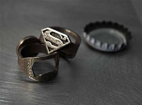 Ring Bottle Opener B445 3d printed bottle opener rings hiconsumption