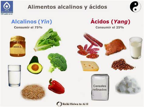 alimento alcalino los alimentos alcalinos yin y los alimentos 225 cidos