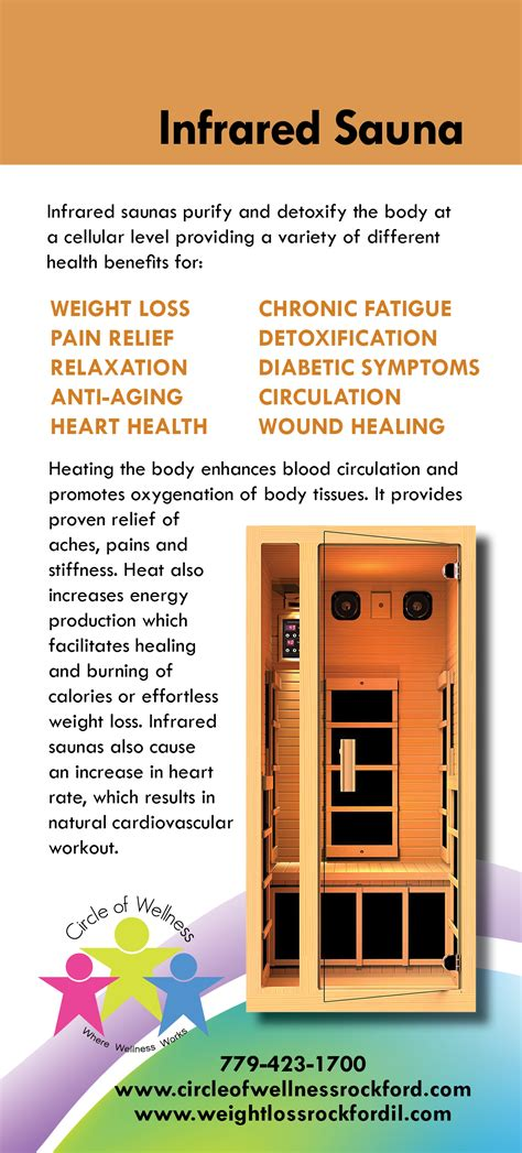 Infrared Sauna Pod Detox Therapy by Circle Of Wellness Rockford