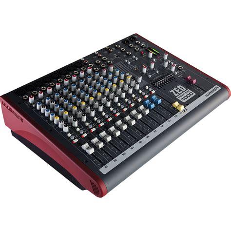 Mixer Allen Heath Zed 16 Channel allen heath zed power 1000 2x 500w powered mixer