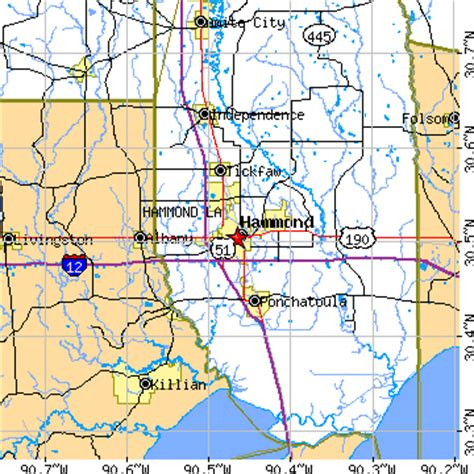 louisiana map hammond hammond la pictures posters news and on your