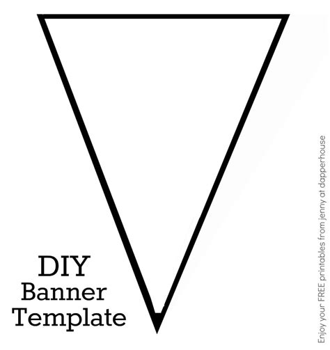 diy banner template how to make your own banners with free printables