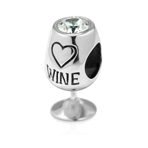 pandora wine bottle charm