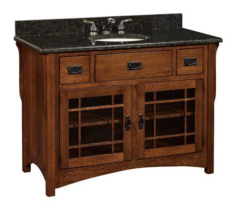 amish bathroom vanities 49 quot lancaster vanity cabinet from dutchcrafters amish