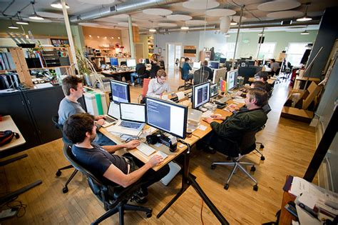 Office Environments by Benefits Of An Open Office Environment