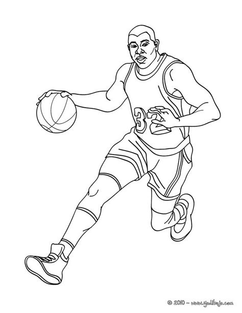 imagenes de jordan para dibujar dibujos para colorear magic johnson regateando es