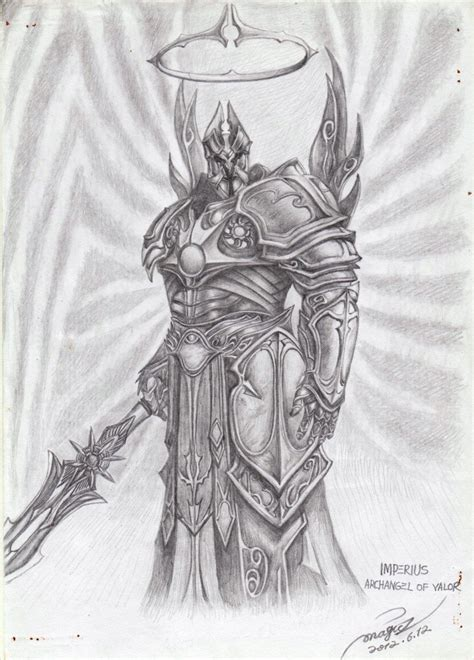 imperius the archangel of valor by magicz1988 on deviantart