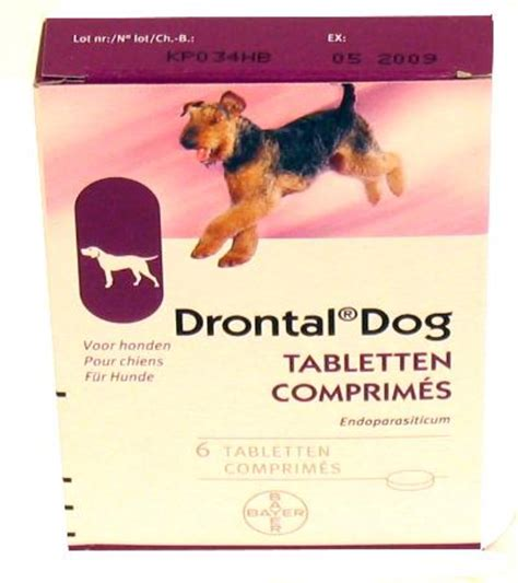 Bayer Drontal 1 Tablet dierspullen nl bayer drontal ontworming hond 95 6