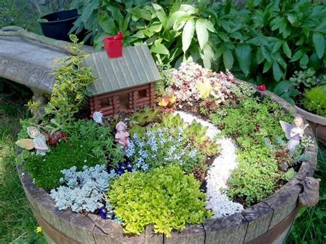 how to make garden containers how to create a garden in a container flea market
