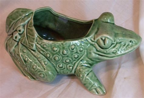 Mccoy Frog Planter by Mccoy Frog Or Toad Planter From The 1950s Pottery