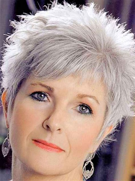 inspirations of very short hairstyles for older women cute very short hairstyles for mature women hairstyles inspiration