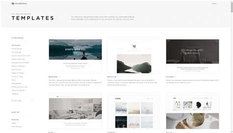 squarespace templates free compare wix vs squarespace compare website builders