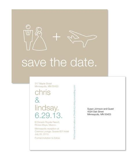 save the date for destination wedding destination wedding save the dates