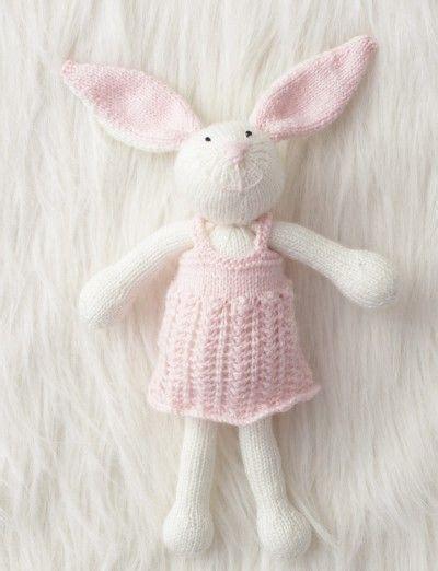 zoetoys baby chunky zoe bunny free knitting pattern patons beehive baby
