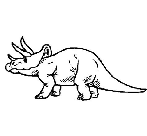 Coloriage De Triceratops Pour Colorier Coloritou Com Coloriage Dinosaure TriceratopsL