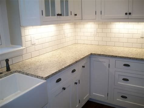 beveled subway tile kitchen backsplash tile design ideas