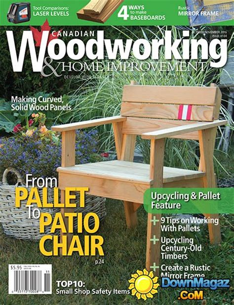 canadian woodworkers canadian woodworking home improvement october november