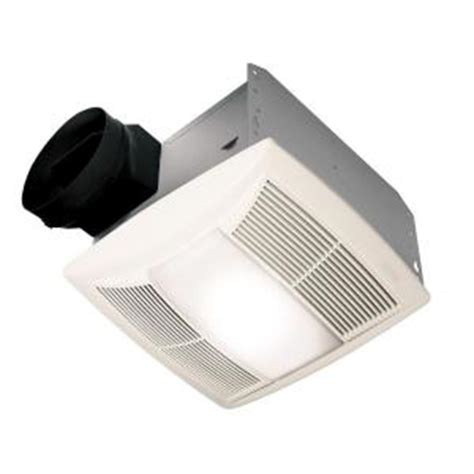 quiet bathroom fan light nutone qt series quiet 130 cfm ceiling exhaust bath fan