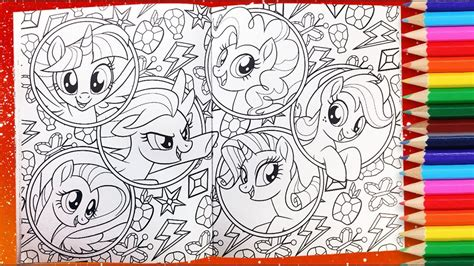 mlp coloring book my pony coloring book mlp colouring pages for