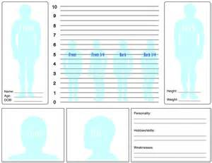Character Template Sheet by Character Sheet Profile Template By Frostfirezero On