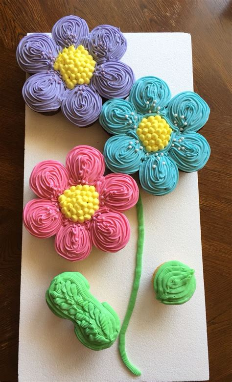 To Be Cake Ideas by Pull Apart Cupcakes Ideas
