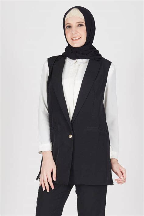 Baju Atasan Wanita Baju Muslim Cardy Outer Rompi Vest Jani berbagai pilihan baju muslim terbaru model outer paling