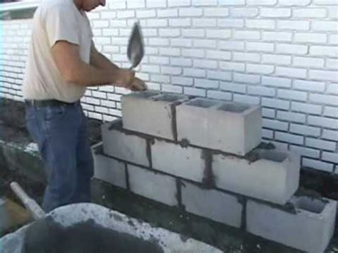 ez concrete cement cinder block  brick laying