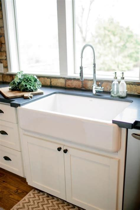 very small kitchen sinks fixer upper country style in a very small town joanna