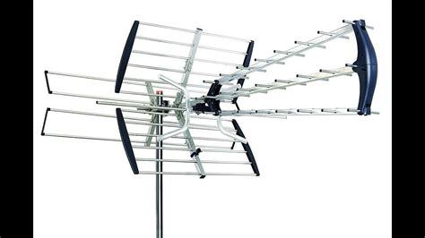 hdtv antenna setup installation  review  sky