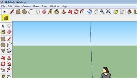 sketchup layout toolbar g sketchup draw arrows to each of the tools which you