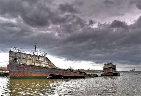 staten island boat graveyard shipwrecks in the staten island boat graveyard urban ghosts