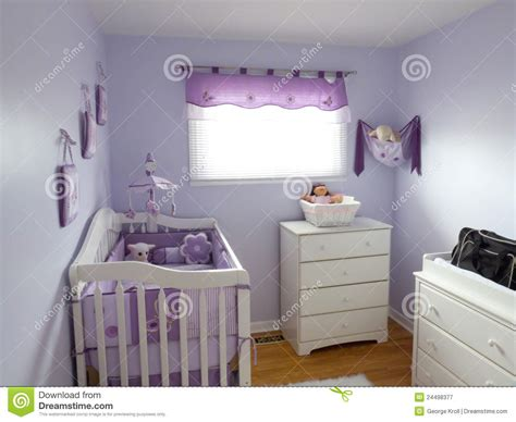 purple babies room royalty  stock photography image