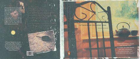 a thousand splendid suns book report quot a thousand splendid suns quot book cover on behance