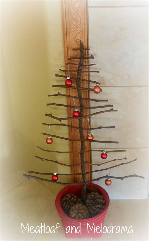meatloaf and melodrama rustic twig christmas tree