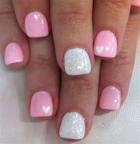 25  Best Ideas about Valentine Nails on Pinterest