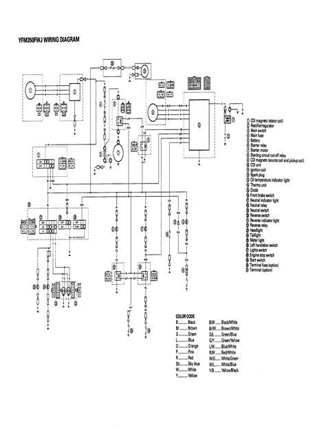 1995 yamaha warrior 350 wiring diagram warrior