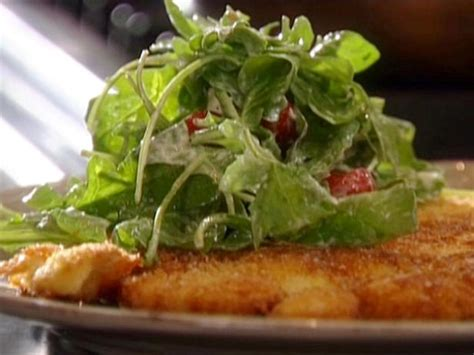 tyler florence salad chicken paillard with creamy parmesan salad recipe tyler